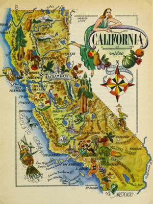 california map intro