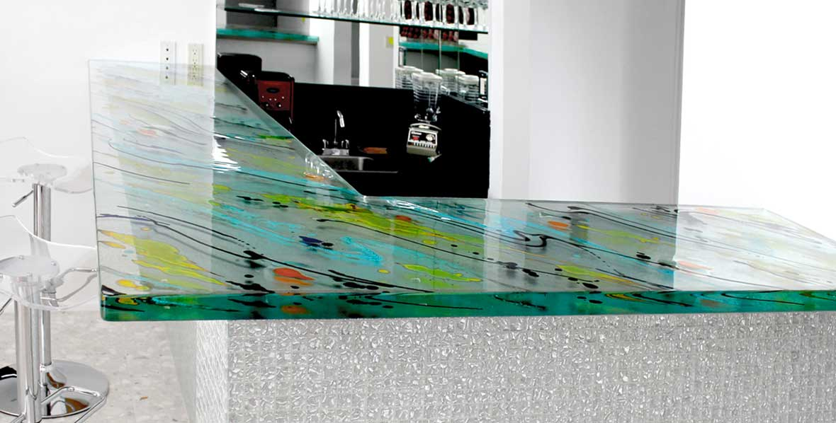 Custom Glass Countertops